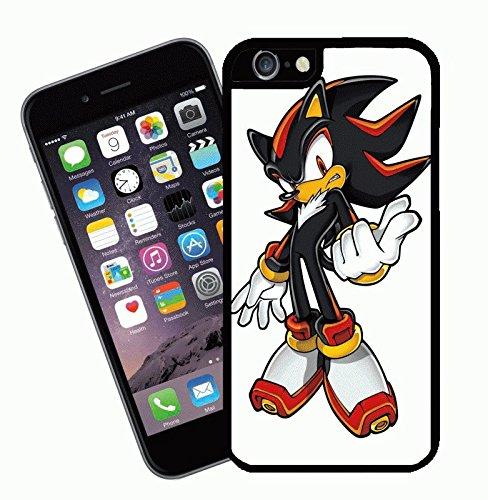 Shadow da Sonic the Hedgehog - questa copertura si adatta Apple modello iPhone 6s (6s non plus) - di idee regalo di Eclipse