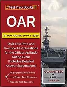 Oar Tour 2020 Amazon.com: OAR Study Guide 2019 & 2020: OAR Test Prep and