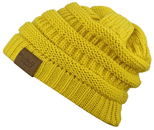 Soft  (Yellow Beanie Hat)
