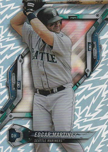 2018 Topps High Tek Pattern 2 Baseball Card #HT-EM Edgar Martinez Seattle Mariners Official MLB Trading Card by Topps
