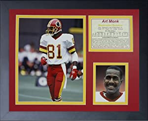 "Legends Never Die ""Art Monk"" Framed Photo Collage, 11 x 14-Inch"