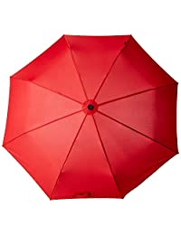Knirps T2 Duomatic Auto Open Close Umbrella, Red, One Size