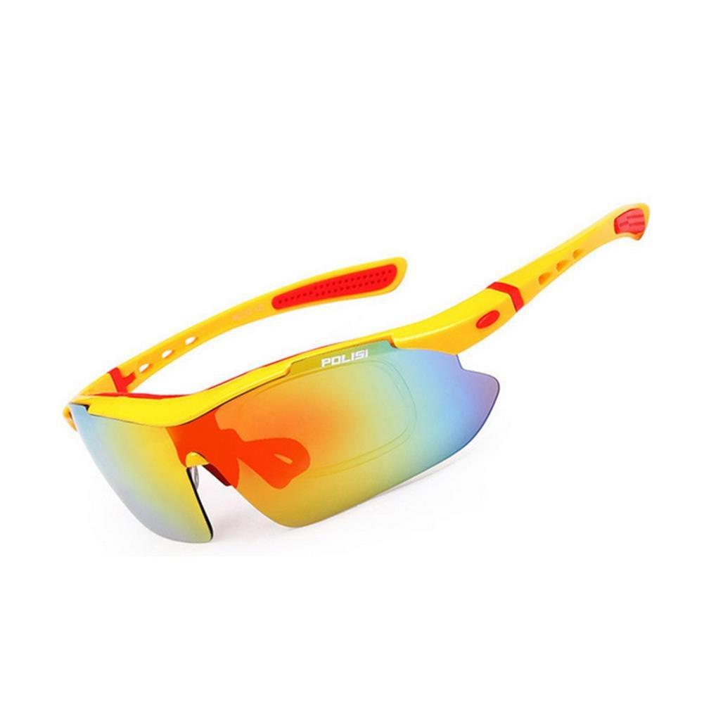 DZW Outdoor Angeln Brille polarisierte Sonnenbrille Bergsteigen fahren Sport Reiten Brille für Film Brille mit Myopie ausgestattet werden können , 5