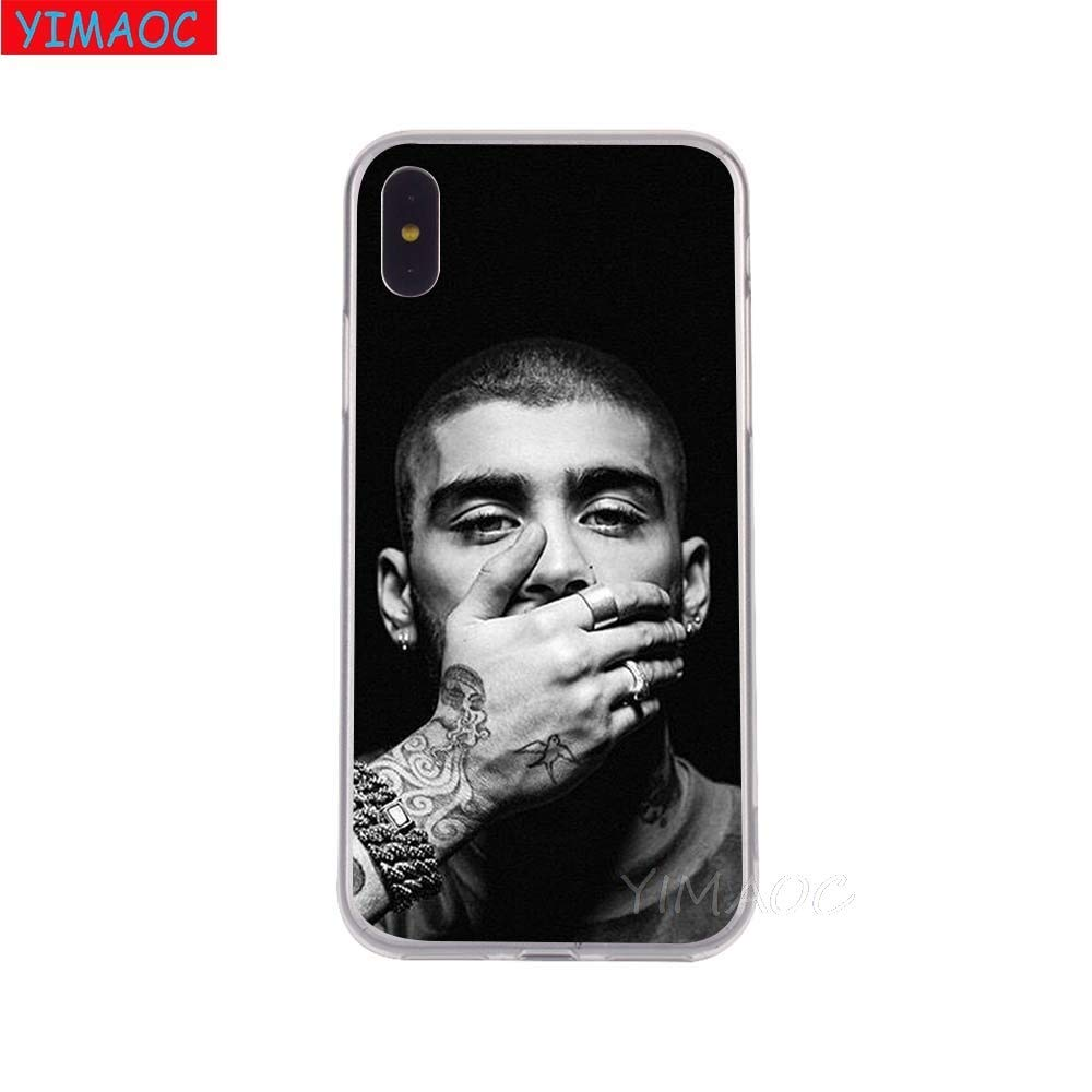 Inspired by Zayn Malik Phone Case Compatible With Iphone 7 XR 6s Plus 6 X 8 9 Cases XS Max Clear Iphones Cases TPU Toy Toy 32905234457 Rise Record Vinyl