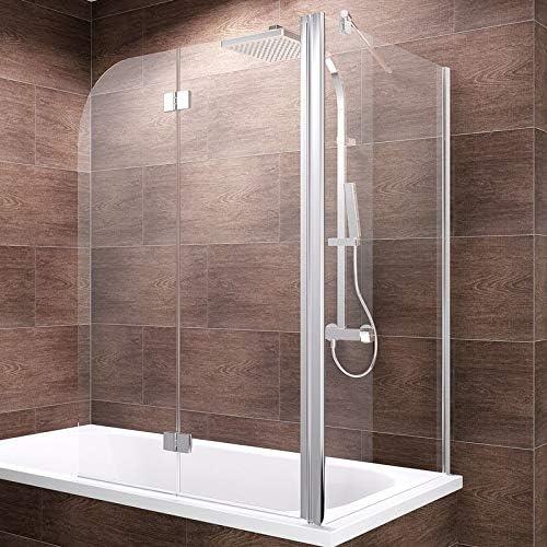 Schulte ducha pared Angle, varios tamaños, de 2 piezas plegable + ...