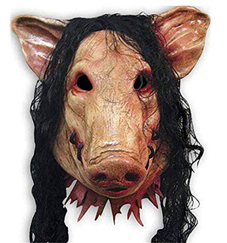 Halloween Party Funny Cute Latex Animal Head Mask,CreepyParty Novelty Halloween Costume Party Animal Head Mask -
