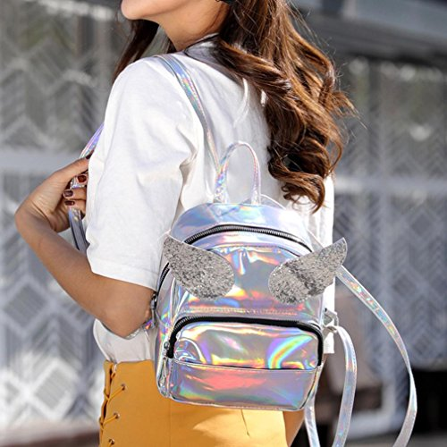 OHQ Sac Sequin Ailes Lady Fashion Laser XqPRXr