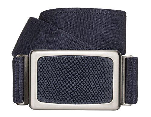 hipsi Invisible, Slimming, Hidden, Stretch, Jean Flat Belt for Women Xs/S - Navy Dark Blue Denim