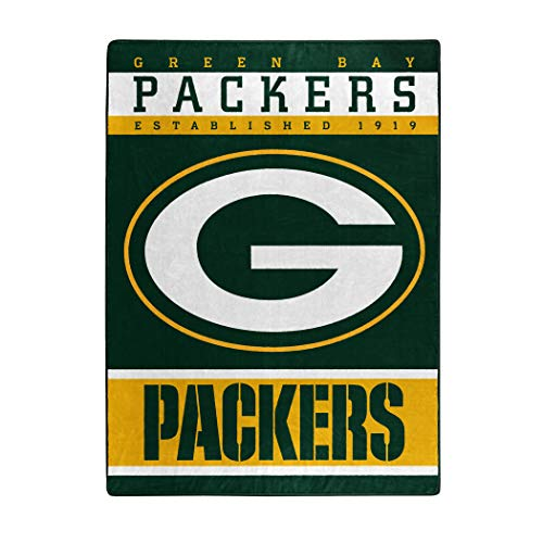- The Northwest Company Officially Licensed NFL Green Bay Packers 12th Man Plush Raschel Throw Blanket, 60