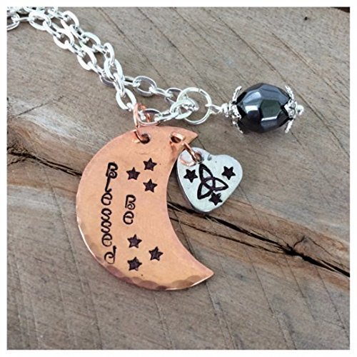 Pagan Necklace Wiccan Necklace Blessed Be Necklace
