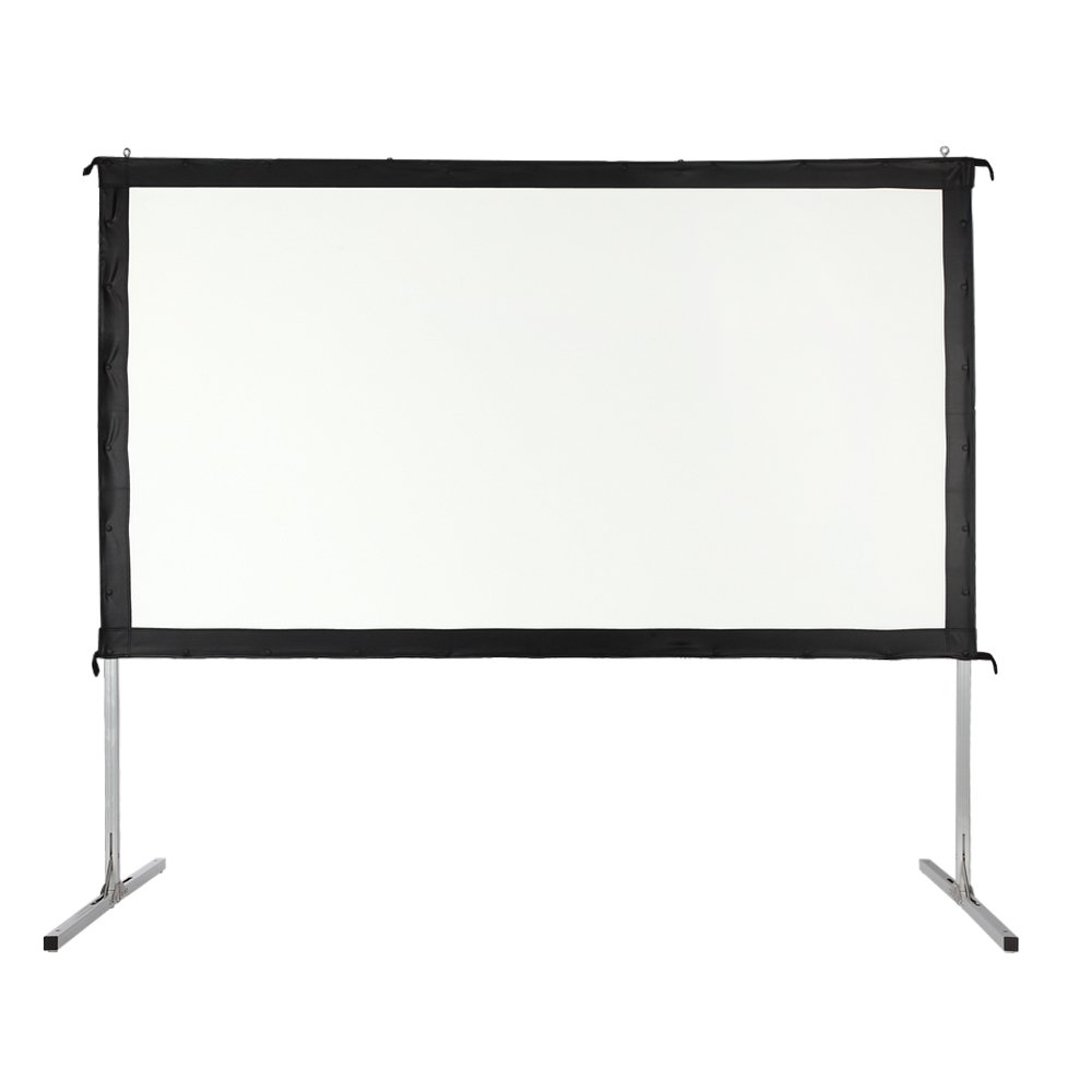 Homegear Fast Fold Portable 120'' Projector Screen 16:9 HD for Indoor/Outdoor Use