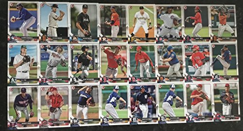 2018 Bowman Paper Prospect Complete 150 card set - Including Ronald Acuna, Luis Robert, Hunter Greene, Christian Apache, Keibert Ruiz, Vladimir Guererro Jr., Gleyber Torres, Colton Welker, and many more. from Bowman