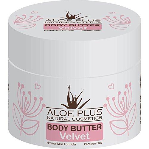 Körperbutter - Körper-Feuchtigkeitscreme für trockene Haut - 200 ml - von Venus Secrets Naturkosmetik - versorgt Sie mit einer reichhaltigen und langanhaltenden Hydration - stellt die natürliche Feuchtigkeit der Haut wieder her und macht sie zart und geschmeidig.