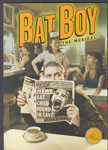 Bat Boy the Musical advertising postcard Union Square Theatre NY 1990s