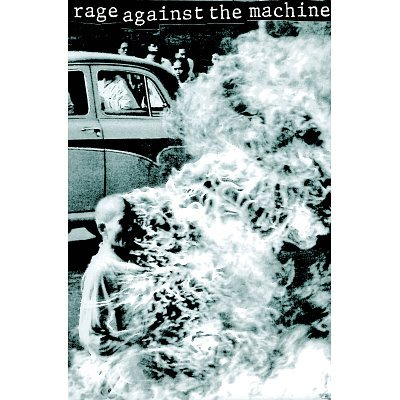 (24x36) Burning Monk Rage Against the Machine Poster PICTURE
