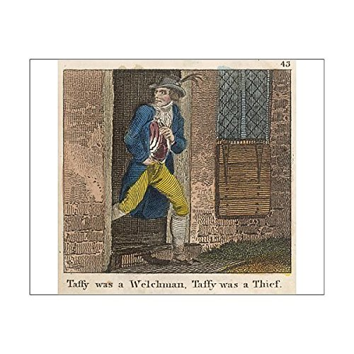 10X8 Print Of Taffy Was A Welshman (690218)