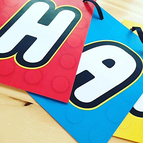Lego Banner w/Matching Ribbon -