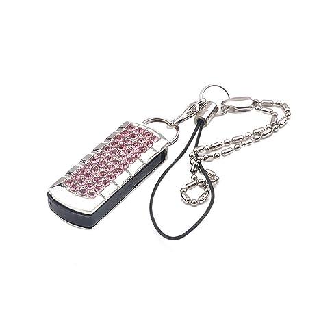 chakil Flash Drive Memoria USB 2GB Metal en Color Portátil Impermeable Ordenador Tablet y portátiles Flash