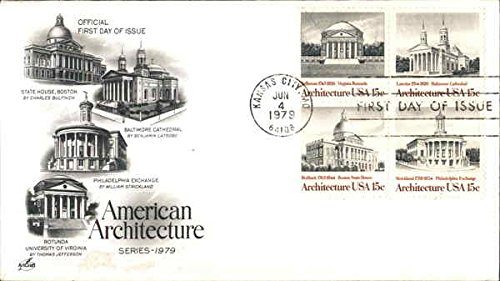American Architecture Series 1979 Original First Day Cover - 1979 Architecture
