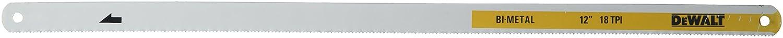 3-Pack Dewalt DWHT20558 12 in Hacksaw Blade