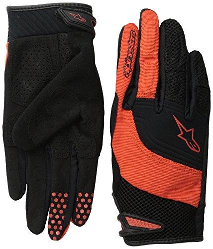 Velocity Gloves - Alpinestars Velocity Glove, Medium, Spicy Orange Black