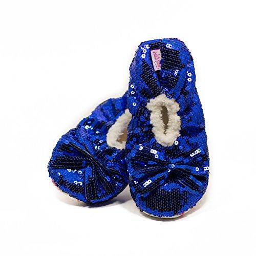 Shimmys Sequin Slippers Women Girls