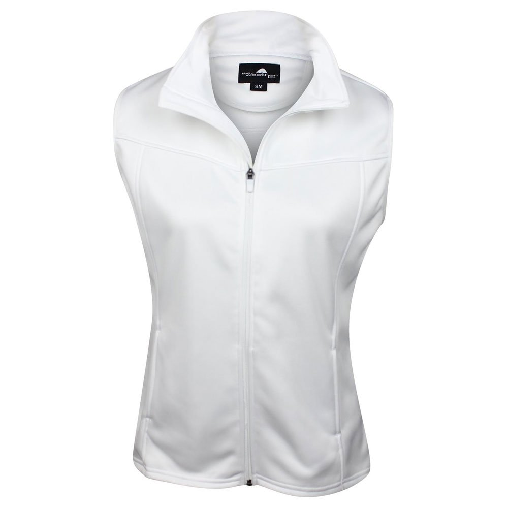 The Weather Apparel Co Poly Flex Golf Vest 2017 Womens White Small