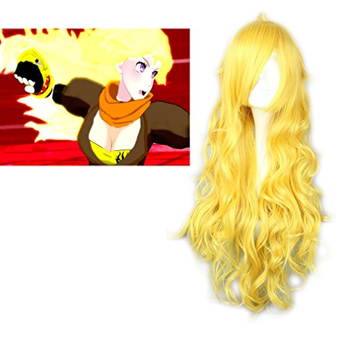 Secy Halloween Costumes (Mcoser Rwby Cosplay Hair Wigs(yang Xiao Long))