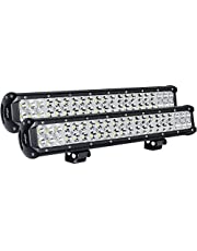 Deal on Nilight LED Light Bar Nilight 20 Inch 126w LED Work Light Spot Flood Combo Led Bar Off Road Lights Driving Lights Led Fog Light Jeep Lights Boat Lighting 2PCS 20Inch 126W LED Light. Discount applied in price displayed.