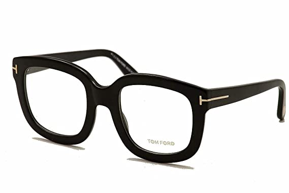 4bbe957fb8bb TOM FORD Eyeglasses FT5315 001 Black 53MM at Amazon Men s Clothing ...