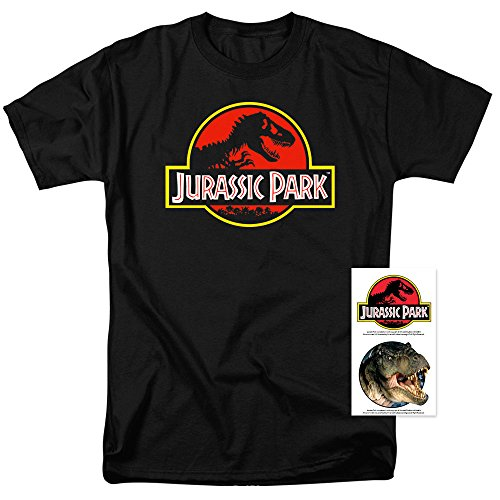 Jurassic Park T Shirt and Exclusive Stickers -