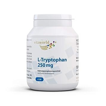 Amazon.com: L-Triptófano 250 mg 120 °Cápsulas alemán ...