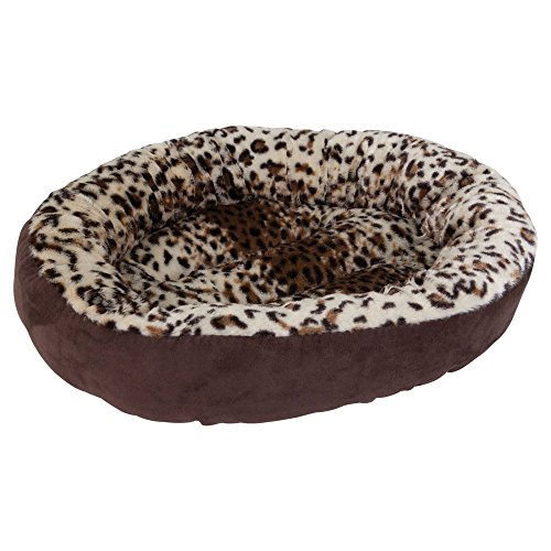 Aspen Pet Round Bed – Animal Print