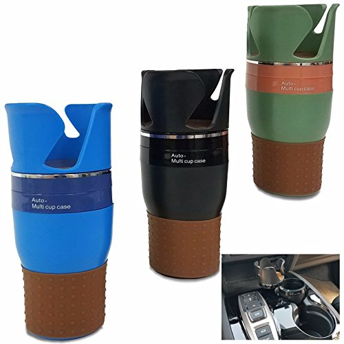 Black Car/SUV Seat Cup Mount Holder Stand Drink/Soda/Sunglasses/Coin/Key/Mobile Phone (Fits most vehicles with cup-holder diameter more than 80mm or 3.15 - Sunglasses Adjustment