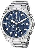 ESQ Men's Quartz Stainless Steel Casual Watch, Color:Silver-Toned (Model: 37ESQE13001A)