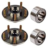 PAIR FRONT Left and Right Wheel Hub & (KOYO) Bearing Fit 2009 2010 2011 2012 2013 TOYOTA VENZA
