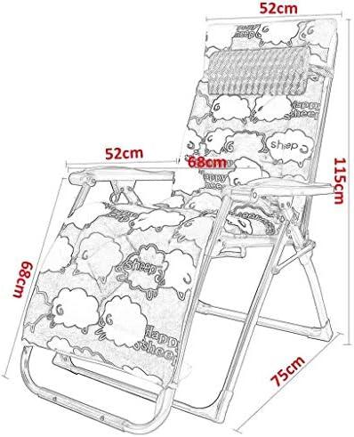無重力椅子、リクライニングチェア折りたたみ式チェアガーデンランチブレイクチェアレイジーチェア多機能調節可能サンラウンジチェア(カラー:A)