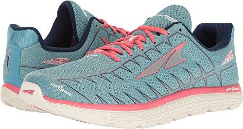 Altra Women's One V3 Running Shoe, Light Blue/Coral, 5.5 B US
