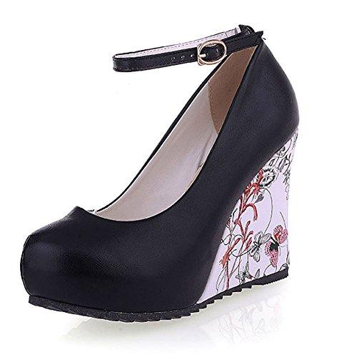 GetmorebeautyUpdate - Zapatos de tacón  mujer Negro - negro