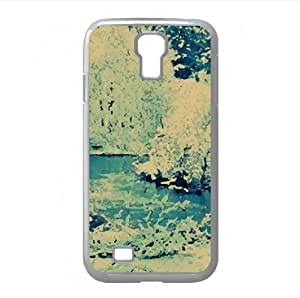 lintao diy White Landscape Watercolor style Cover Samsung Galaxy S4 I9500 Case (Winter Watercolor style Cover Samsung Galaxy S4 I9500 Case)