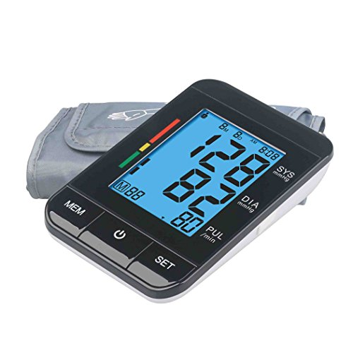 Morchi Blood Pressure Monitor Sphygmomanometer - Automatic B