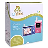 Infant Secure Wireless Baby Digital Video Monitor Surveillance Camera w/ Night Vision, Temperature Monitoring & Two-Way Intercom, Nightlight and Lullaby Player, Timer Alarm, 900ft Range