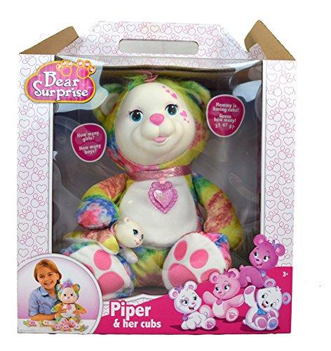 Bear Surprise Piper & her (Surprise Teddy Bear)