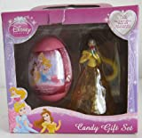 Disney Princess SURPRISE gift set with an egg in a plastic shell with toy and stickers inside- 1 ct- IMPORTED from EUROPE