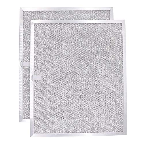 BPS1FA30 Aluminum Filter by Primeswift Compatible with Broan 30 wide WS1 and QS1 Series Range Hood Filter(2Pack)