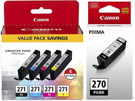 Canon PGI 270 Pigment CLI 271 4 Pack product image