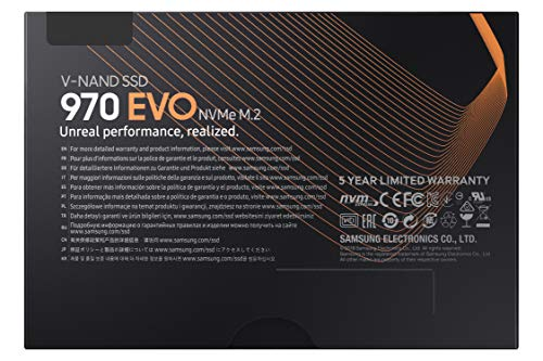 Samsung 970 Evo 250gb Nvme Pcie M 2 2280 Ssd Mz V7e250bw Qiwisales