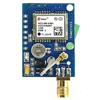SainSmart NEO-6M GPS Module Aircraft Flight Controller for Arduino UNO MEGA R3 Mega2560 Duemilanove Nano Robot