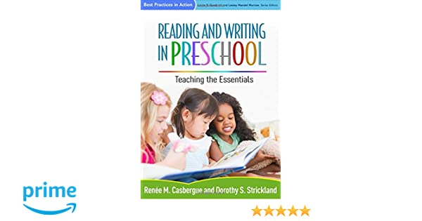 Amazon com: Reading and Writing in Preschool: Teaching the