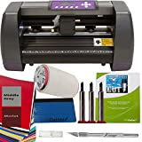 14'' Craft Vinyl Cutter USCutter MH BUNDLE - Sign Making Kit w/Design & Cut Software, Supplies Tools